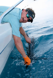 Pelagic Sportfishing's Captain Mike Webb